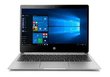 HP EliteBook Folio G1 Notebook PC, 12.5 in, Intel Core M@1.2 GHz, 8 GB DDR3 RAM, 240 GB SSD, Windows 10 (Certified Refurbished)