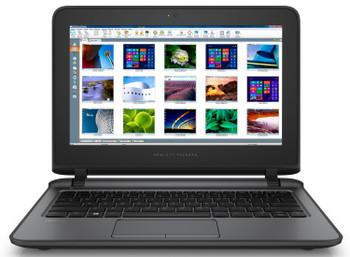 HP ProBook 11 EE G2 Notebook PC, Intel Celeron@1.6 GHz (Renewed)