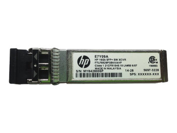 HPE 16GB SFP SW Extended Temp Transceiver