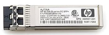 HP 721000-001 10GB SHORT WAVE ISCSI SFP+ 4-PACK TRANSCEIVER FOR HP MSA 2040 STORAGE (Certified Refurbished)