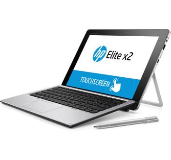 HP Elite x2 1012 G1 Tablet with Travel Keyboard, 12 in, 256 GB SSD, Windows 10 (Renewed)