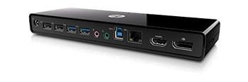 HP 3005pr USB3 Port Replicator (Certified Refurbished)