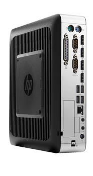 HP T730 Thin Client AMD RX-427BB APU @ 2.7GHz with Radeon HD 9000 Graphics, 8GB RAM, 64 GB MLC M.2 Storage, ThinPRO OS (Renewed)