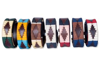 """Gaucho Goods Mens Premium Leather Belt - The Patriot (36"""") (C)"""