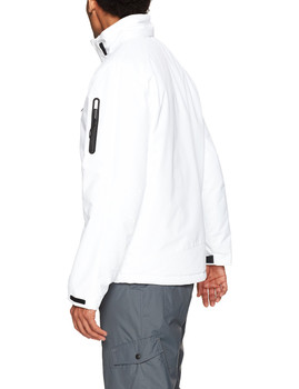 HFX Men's Phantom Ski Jacket, White, S (C)