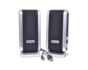 Generic GC-MM-SPEAKER 2 Channel Speakers - USB  parts (Renewed)