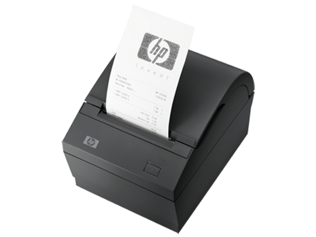 HP Dual Serial PUSB Thermal Receipt Printer BM476AA (Renewed)