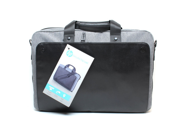 HP 15.6 Executive Black Top Load Laptop Case Bag -  P6N18AA