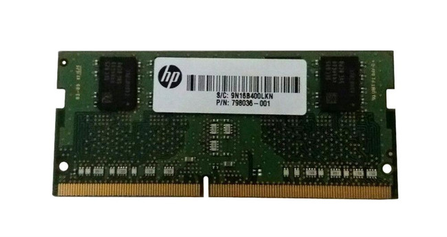 HP 798036-001 4GB SODIMM DDR4-2133 Memory (Certified Refurbished)