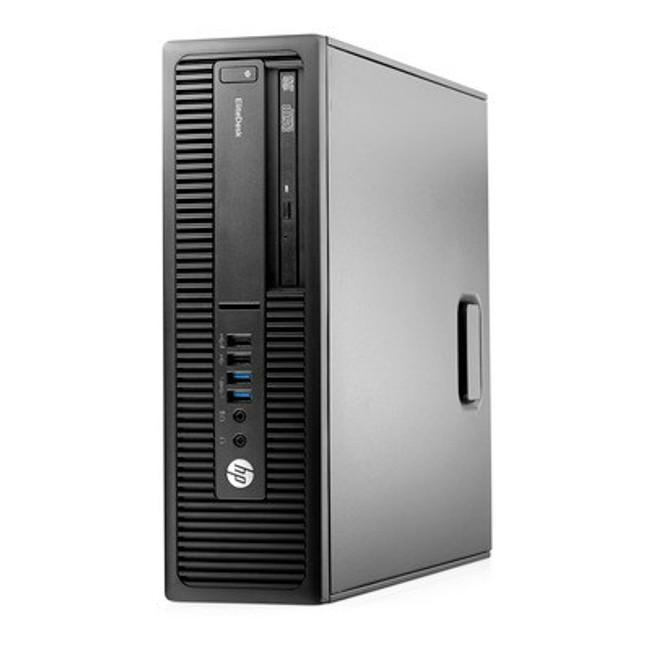 HP EliteDesk 705 G2 Small Form Factor PC 500GB HDD, AMD PrO A8-8650B R7, Windows 7 (Renewed)
