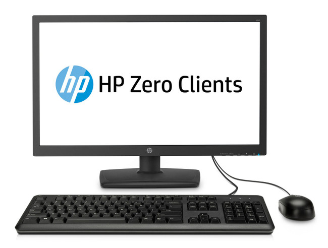 HP t310 All-in-One Zero Client, 23.6 in, DDR3 RAM, No OS (Scuffs/Scratches)