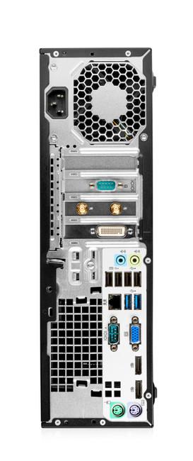 HP EliteDesk 705 G2 Small Form Factor PC, 4 GB DDR3 RAM, Windows 7 (Scuffs/Scratches)