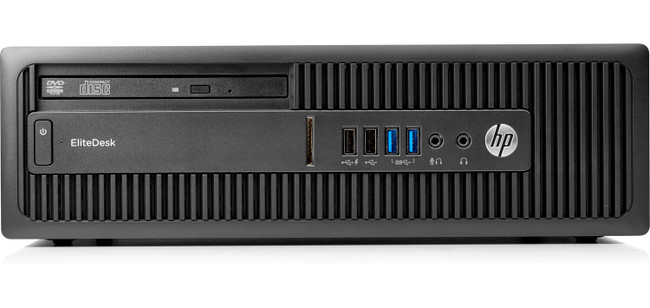 HP EliteDesk 705 G3 Small Form Factor PC, AMD PRO A6 series@3.5 GHz, 4 GB DDR4 RAM, Windows 10 (Scuffs/Scratches)