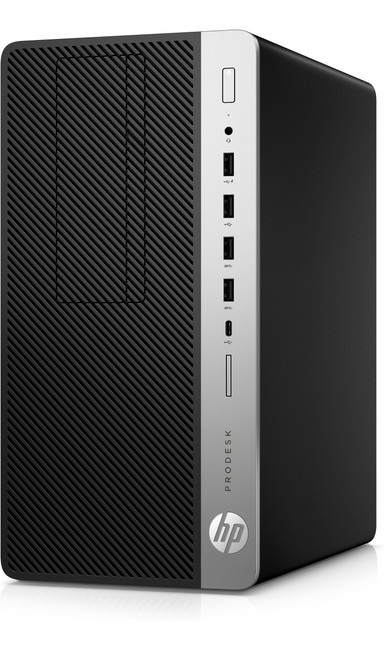 HP ProDesk 600 G3 Microtower PC, Intel Core i5@3.4 GHz, 4 GB DDR4 RAM, Windows 10 (Renewed)