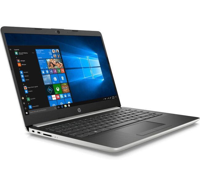 HP Notebook - 14-df0053od, Intel Celeron@1.1GHz, 4GB RAM, 64GB eMMC, Windows 10 and HP Envy 4520 Wireless All-in-One Photo Printer with 5 x 11 Photo Paper (Renewed)