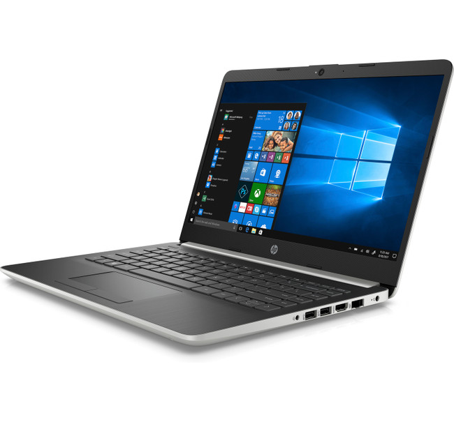 HP Notebook - 14-df0053od, Intel Celeron@1.1GHz, 4GB RAM, 64GB eMMC, Windows 10 With HP ENVY Photo 7155 All-in-One Printer, HP Cleaning Kit, Card & Invitation Kit (Renewed)