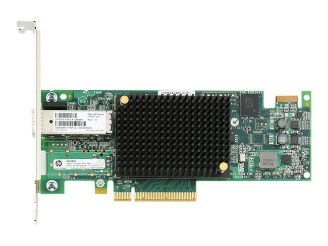 HPE StoreFabric SN1100E 16Gb Single Port Fibre Channel Host Bus  (Renewed)
