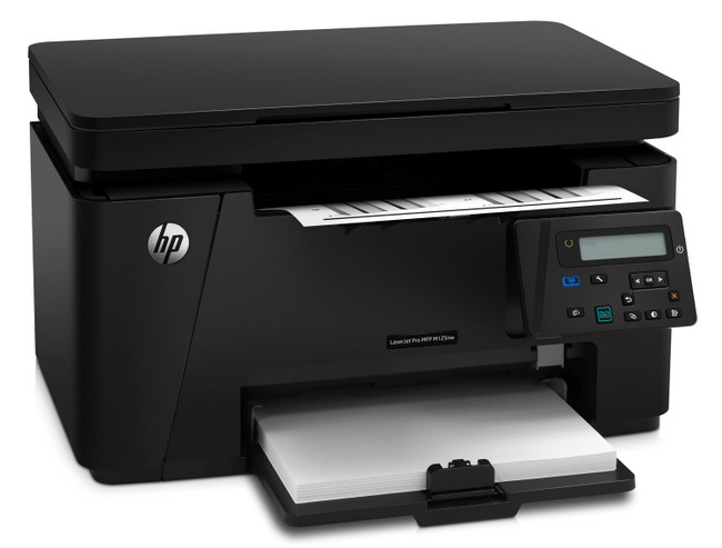 HP LASERJET PRO MFP M125NW - No Toner (Renewed)