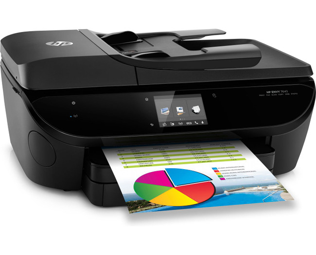 HP Envy 7645 All-in-One Color Inkjet Printer, Copier & Scanner