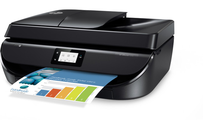 HP OfficeJet 5255 All-in-One Printer With Mobile Printing NO INK (Renewed)