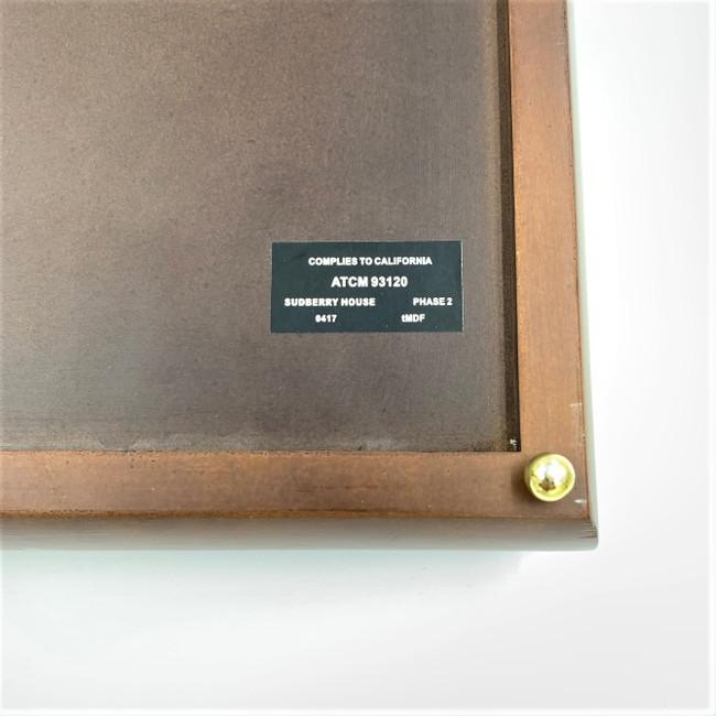 Sudberry House 99531 Laura's Square Box 8 x 8 x 2.75 Mahogany