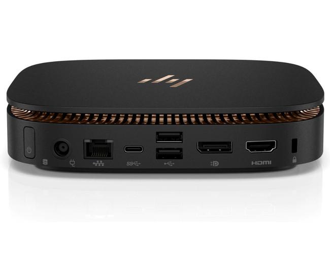 1NV84UT HP Elite Slice Workstation Desktop PC i5-6500T@2.5 GHz 8GB DDR4 RAM 256 GB SATA SSD Windows 10 (Renewed)