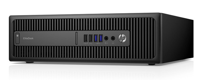 HP Elite Desk 800 G2 Small Form Factor PC 500 GB Windows 7 (Scuffs/Scratches)
