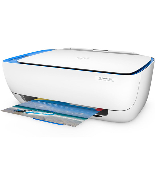 HP DeskJet 3630 Series All in One Wireless Printer, in Blue