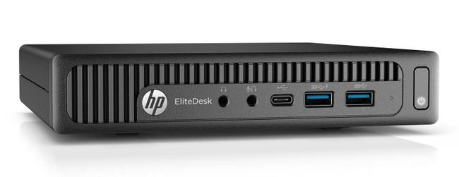 HP ELITEDESK 800 35W G2 DESKTOP MINI, Intel Core i5-6500T@2.5 GHZ, 8GB, 256GB SSD, Windows 7 Professional 64 in Black (Renewed)