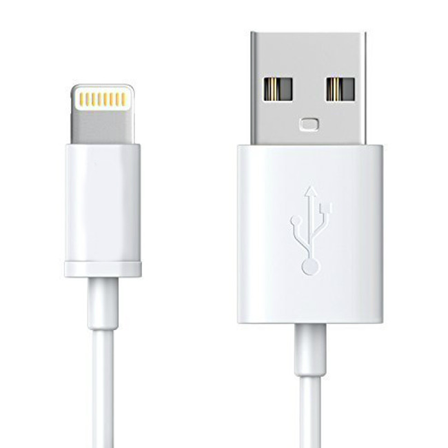 Quantity 20 - Apple 3ft USB to Lightning cable, MFI Certified - Compatible with iPad, iPod, iMac, Macbook, iPhone 5/5S/5C/6/7/8/X
