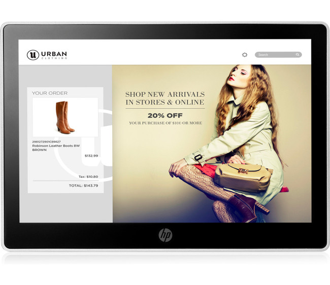 HP L7010t 10.1-inch Retail Touch Monitor