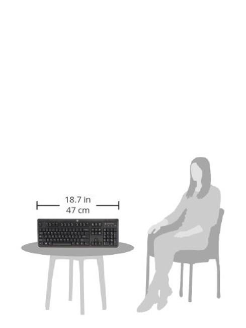 HP USB SmartCard CCID French/English Keyboard