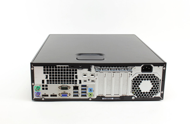 HP ELITEDESK 800 G2 SFF PC, INTEL CORE I5-6500 CPU @3.20GHZ, 8 GB, 128 GB SSD, INTEL HD GRAPHICS 530, WINDOWS 10 PRO (Renewed)