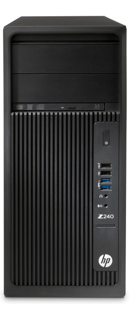 HP Z240 Tower Workstation, Windows 7  (Certified Refurbished)