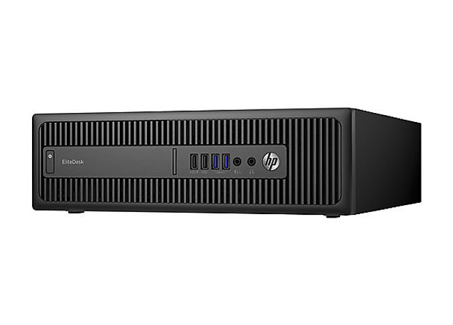 HP EliteDesk 800 G2 Small Form Factor PC, 500 GB HDD, 8 GB RAM, Intel Core i5- 6500@3.20 GHz Windows 10  (Renewed)