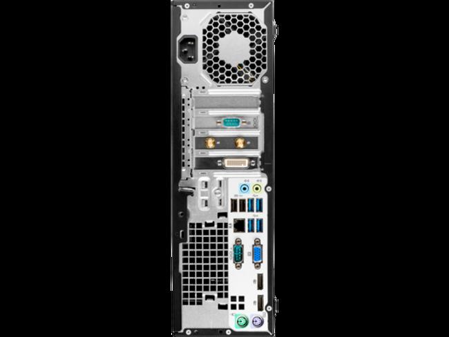 HP EliteDesk 705 G3 Small Form Factor PC, AMD PRO A10 series@3.5 GHz, 8 GB DDR4 RAM, 1TB HDD, Windows 10 (Renewed)