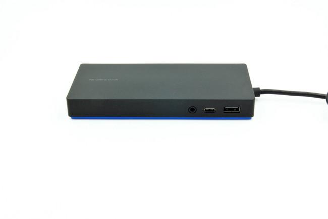 HP Elite USB-C Docking Station T3V74AA#ABA (Renewed)