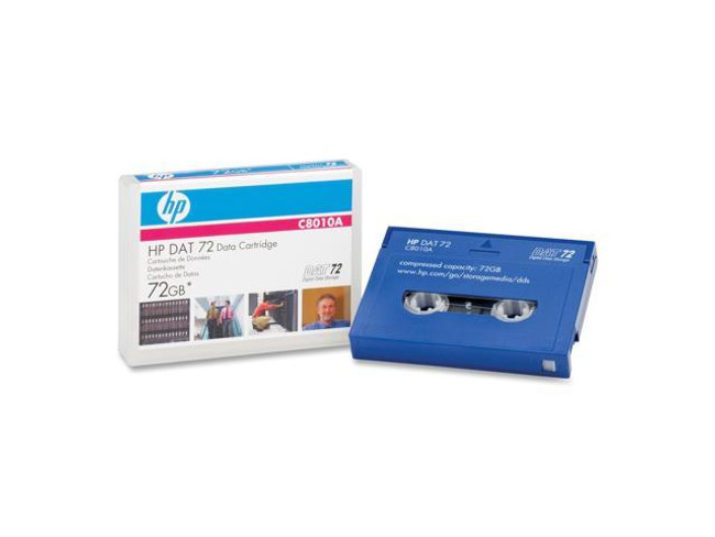 HP C8010A DAT72 4/170 DDS5 Media 36/72GB
