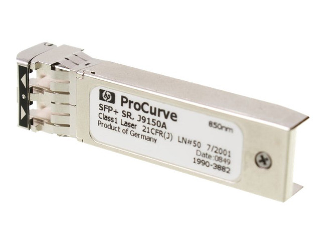 HP X132 10G SFP+ LC SR Transceiver J9150A (Renewed)