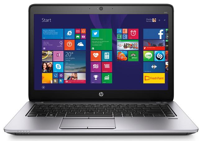HP EliteBook 840 G2 Notebook PC4 GB DDR3 RAM, Windows 7 (Scuffs/Scratches)