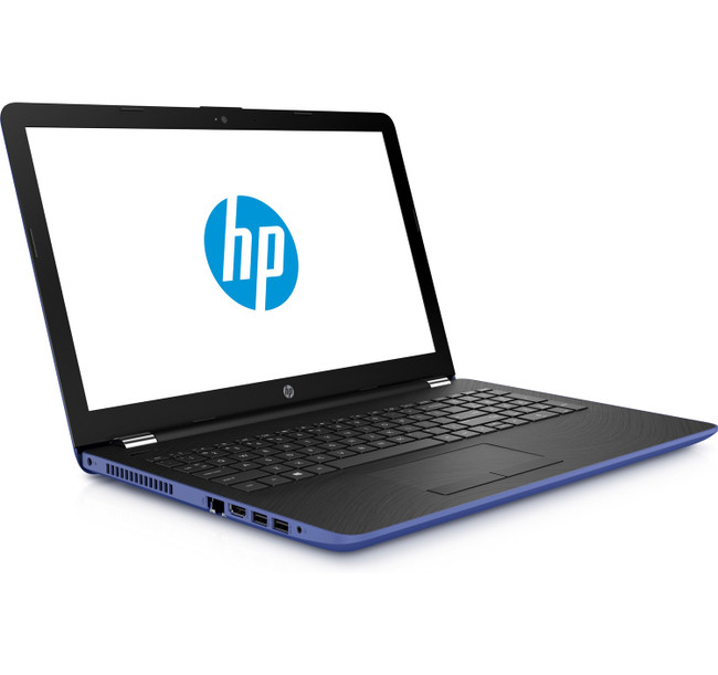HP Notebook - 15-bw026cy TOUCHSCREEN, Blue, AMD A6-9220@2.5 GHz, 4GB DDR4 RAM, 1TB HHD, 3PP53UA Windows 10 (Renewed)