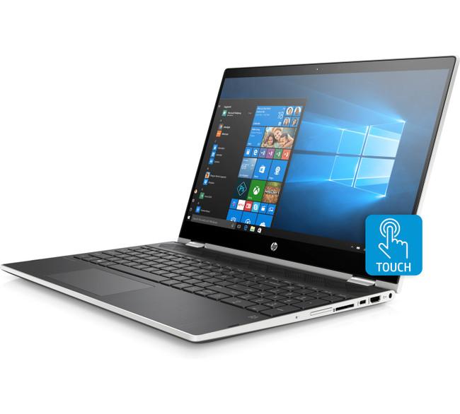 HP Touch Screen Pavilion x360 - 15-cr0075nr, Intel i3 7100U@2.4GHz, 8GB RAM, 1TB SSD, 3VN45UA Windows 10 (Certified Refurbished)