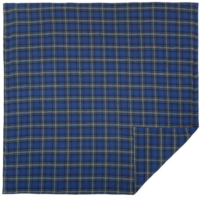 Pinzon 160 Gram Plaid Flannel Duvet Cover - Twin, Blackwatch Plaid - FLDC-BWPL-TW (C)