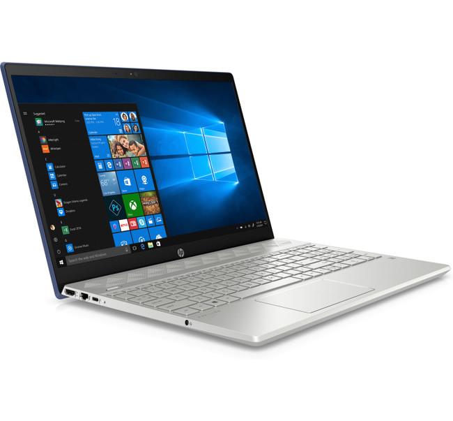 HP Pavilion - 15-cw0027ca, English/Canadian Keyboard, AMD Ryzen 3@2.4GHz, 8GB RAM, 256GB SSD, Windows 10 in Silver and Blue 4BP83UA (Renewed)