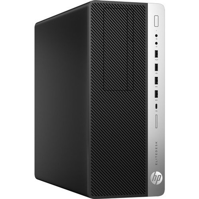 HP EliteDesk 800 G3 Small Form Factor PC, Intel Core i5@3.2 GHz, 8 GB DDR4 RAM, 256 GB SSD, Windows 7  (Renewed)