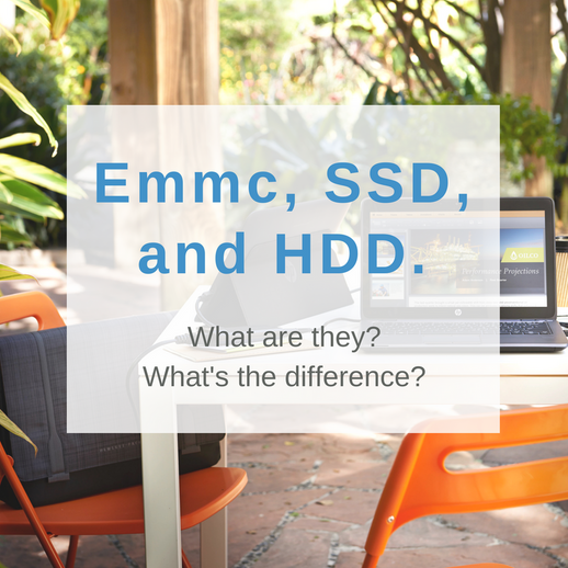 HDD, SSD and eMMC: What's the difference?