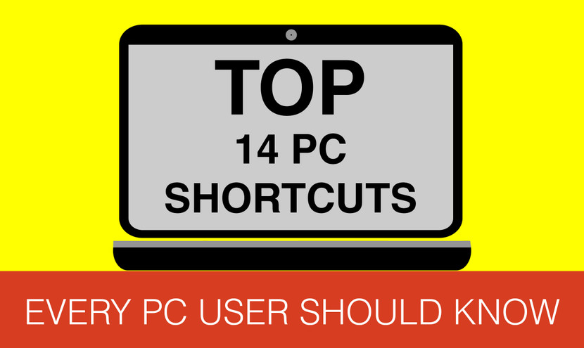 14 PC Shortcut Keys Everyone Should Know