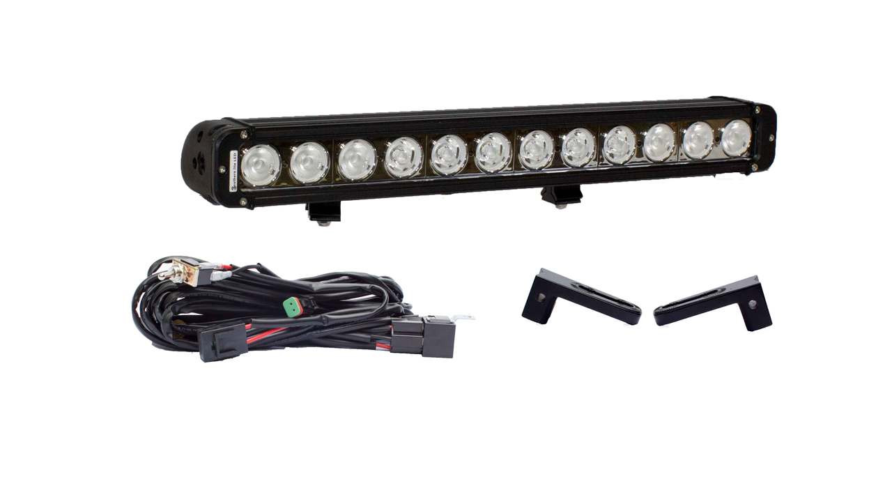 "2500 HD 21"" LED light bar Hidden Bumper Mount Package"