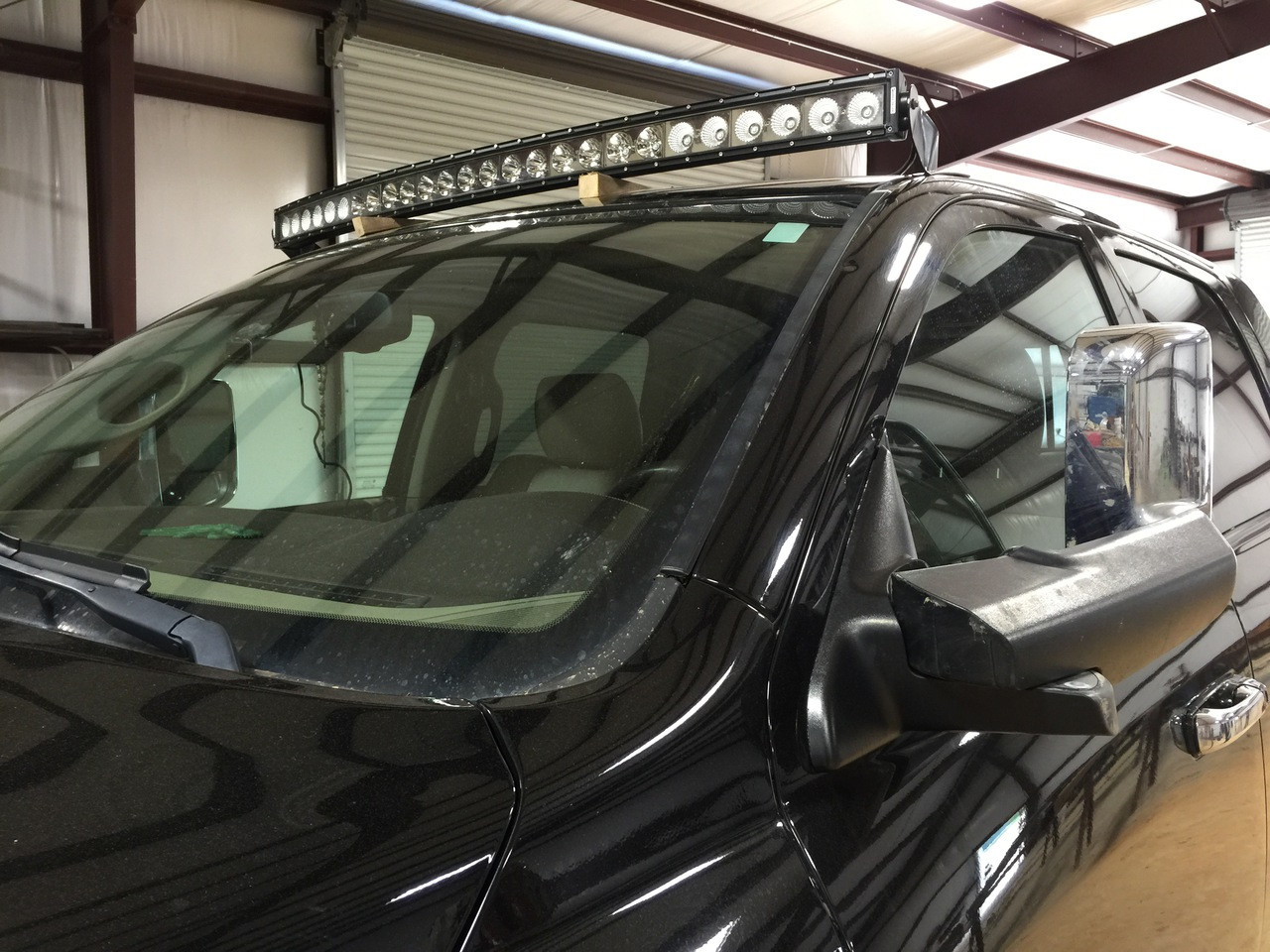 New Dodge Ram 50 Curved 54 Led Light Bar Roof And Brackets Wiring Harness Bracket Package Includes