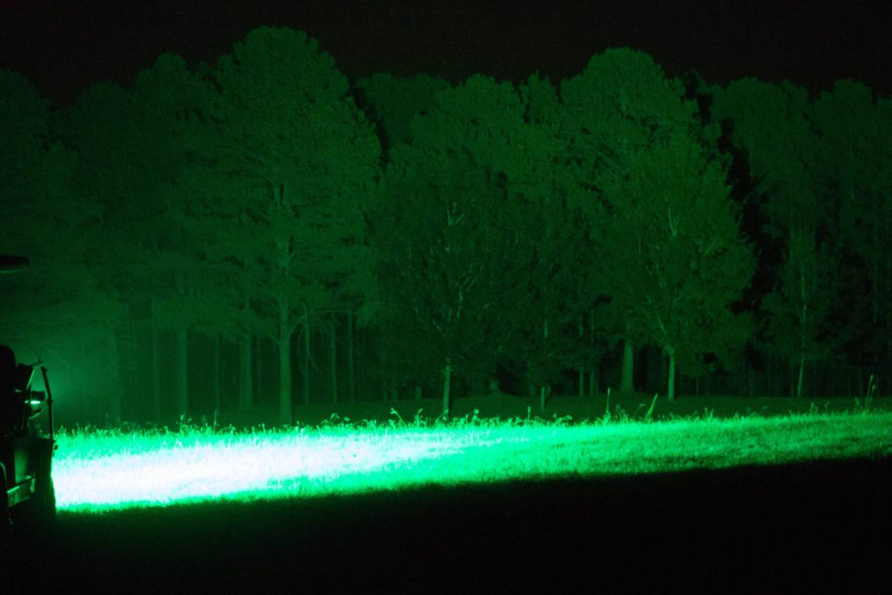 No more spooking or Disturbing game with this hyper green light bar